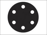 Flexovit FLV26397 - Hook & Loop Sanding Discs 150mm Fine 120g (Pack of 6)
