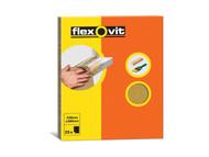 Flexovit FLV58232 - Glasspaper Sanding Sheets 230 x 280mm Grade O (25)