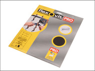 Flexovit FLV58250 - Emery Cloth Sanding Sheets 230 x 280mm Medium 80g (25)
