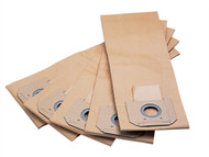 Flex Power Tools FLXFILTBAG - Paper Filter Bags (Pack of 5)