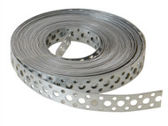 Forgefix FORGB20 - Builders Galvanised Fixing Band 20mm x 1.0 x 10m Box 1