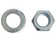 Forgefix FORNW20B - Hexagon Nut & Washer ZP M20 Blister 2