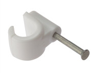 Forgefix FORPCMN9 - Pipe Clip With Masonry Nail 9mm Box 100