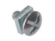 Forgefix FORRBN616M - Roofing Bolt Zp M6 x 16mm Bag 25