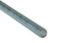 Forgefix FORROD10 - Threaded Rod Zinc Plated M10 x 1m Single