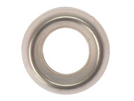 Forgefix FORSCW10NM - Screw Cup Washers Solid Brass Nickel Plated No.10 Bag 200