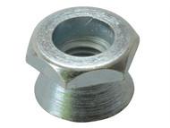 Forgefix FORSHNT8M - Shear Nut Zinc Plated M8 Bag 10