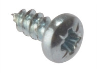 Forgefix FORSTP124ZB - Self-Tapping Screw Pozi Pan Head ZP 1/2 x 4 Blister 40