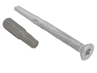 Forgefix FORTFCH5560 - TechFast Roofing Screw Timber - Steel Heavy Section 5.5x60mm Pack 100