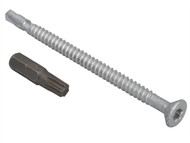Forgefix FORTFCL5585 - TechFast Roofing Screw Timber - Steel Light Section 5.5x85mm Pack 50