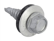 Forgefix FORTFHS6322 - TechFast Hex Head Stitching Screw Self-Drill 6.3x22mm Pack 100