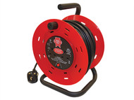Faithfull Power Plus FPPCR25M - Cable Reel 25 Metre 13 Amp 240 Volt