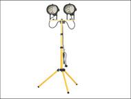 Faithfull Power Plus FPPSL1000CT - Sitelight Twin Adjustable Stand 1000 Watt 240 Volt