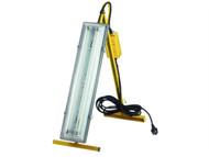 Faithfull Power Plus FPPSLFWL - Plasterers Folding Light 2 x 18 Watt 110 Volt