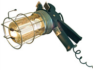 Faithfull Power Plus FPPSLGRIPLE - Heavy-Duty Low Energy Inspection Lamp 5 Meter 60 Watt 240 Volt