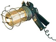 Faithfull Power Plus FPPSLGRIPLEL - Heavy-Duty Low Energy Inspection Lamp 5 Meter 60 Watt 110 Volt