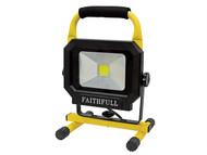 Faithfull Power Plus FPPSLLED20P - LED Pod Sitelight 1400 Lumen 20 Watt 240 Volt