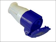 Faithfull Power Plus FPPSOC16AMP - Blue Socket 16 Amp 240 Volt