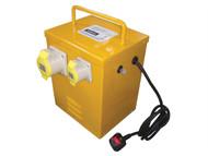 Faithfull Power Plus FPPTRANHEAT - Heater Transformer 3KVA Continuous Rate