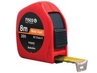 Fisco FSCPWC8ME - Pro Flex Tape PW8ME 8m/26ft (Width 25mm)