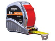 Fisco FSCTMC8M - TMC8M Chrome Tri-matic Tape 8m (Width 25mm)