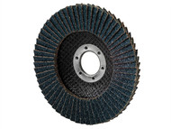 Garryson GARFD10060Z - DIY Zirconium Flap Disc 100mm x 16mm - 60 grit Medium