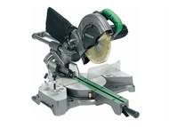Hitachi HITC8FSEB - C8FSEB 216mm Sliding Compound Mitre Saw & Blade 240 Volt