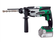 Hitachi HITDH18DSL4 - DH18DSL/L4 SDS-Plus Hammer Drill 18 Volt Bare Unit