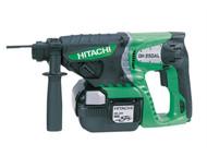 Hitachi HITDH25DAL - DH25DAL SDS Plus Hammer Drill 25.2 Volt 2 x 2.0Ah Li-Ion