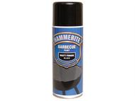 Hammerite HMMBBQBLAERO - BBQ Paint Aerosol Black Matt 400ml
