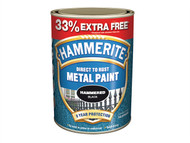 Hammerite HMMHFS750AV - Direct to Rust Hammered Finish Metal Paint Silver 750ml + 33%