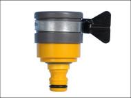 Hozelock HOZ2177 - 2177 Round Mixer Tap Connector Max 24mm Diameter