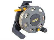Hozelock HOZ2412 - 2412 30m Freestanding Compact Hose Reel + 25 Metres of 12.5mm Hose
