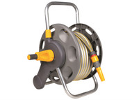 Hozelock HOZ2431 - 2431 45m Assembled Hose Reel & 25 Metres of 12.5mm Hose