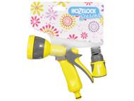 Hozelock HOZ2476LIME - Seasons Multispray Gun & Fittings Lime