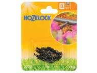 Hozelock HOZ2778 - Straight Connector 4mm (10 Pack)