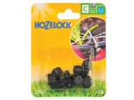 Hozelock HOZ2787 - Endline Adjustable Mini Sprinkler 4mm/13mm (10)