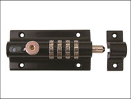 Henry Squire HSQCOMBI2 - Combi 2 Re-Codeable Locking Bolt 120mm - Black