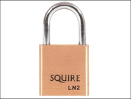 Henry Squire HSQLN2 - LN2 Lion Brass Padlock 25mm