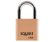 Henry Squire HSQLN4 - LN4 Lion Brass Padlock 5-Pin 40mm