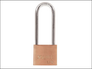 Henry Squire HSQLP925 - LP9 2.5 Leopard Brass Padlock 64mm Long Shackle