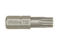 IRWIN IRW10504353 - Screwdriver Bits Torx T20 x 25mm Pack of 10