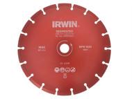 IRWIN IRW10505929 - Segmented Diamond Disc 115mm x 22.2mm