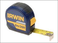 IRWIN IRW10507789 - Standard Pocket Tape 8m/26ft (Width 25mm) Carded
