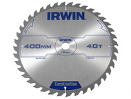 IRWIN IRW1897347 - Circular Saw Blade 400 x 30mm x 40T ATB