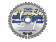 IRWIN IRW1897363 - Weldtec Circular Saw Blade 160 x 20mm x 40T ATB