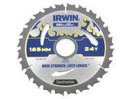 IRWIN IRW1897365 - Weldtec Circular Saw Blade 165 x 30mm x 24T ATB