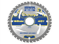 IRWIN IRW1897366 - Weldtec Circular Saw Blade 165 x 30mm x 40T ATB