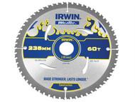 IRWIN IRW1897389 - Weldtec Circular Saw Blade 235 x 30mm x 60T ATB