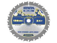 IRWIN IRW1897391 - Weldtec Cordless Circular Saw Blade 136 x 10mm x 24T ATB C